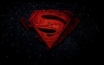 Download Wallpapers Superman 4k Space 3d Logo Superheroes Dc