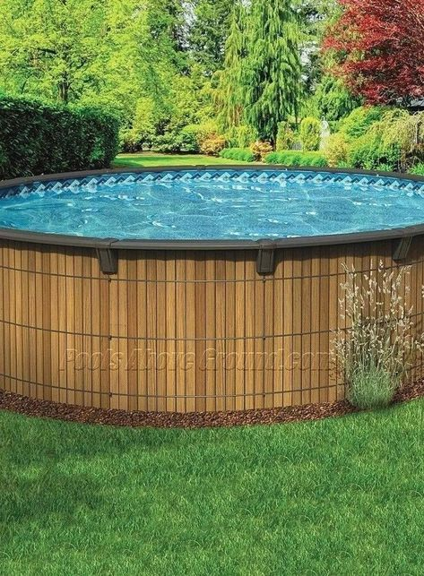 49 Most Popular Backyard Ideas With Pool Design For 2019 Solnet Sy Com Above Ground Pool Landscaping Above Ground Swimming Pools In Ground Pools