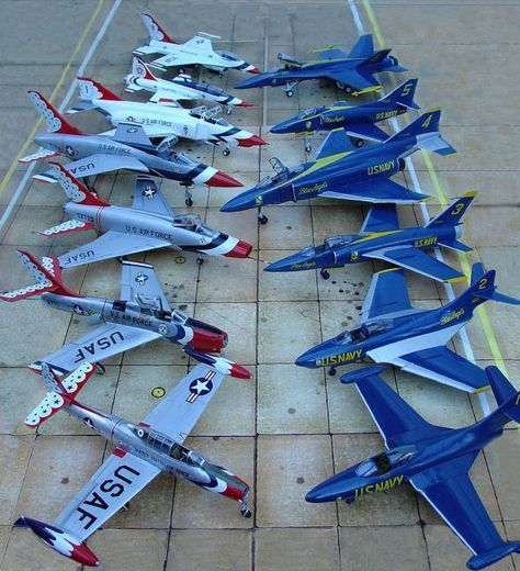 Vintage Helicopters USAF Thunderbirds and US Navy Blue Angels Us Military Aircraft, Military Jets, Air Fighter, Fighter Jets, Avion Jet, Us Navy Blue Angels, F4 Phantom, Old Planes, Jet Plane