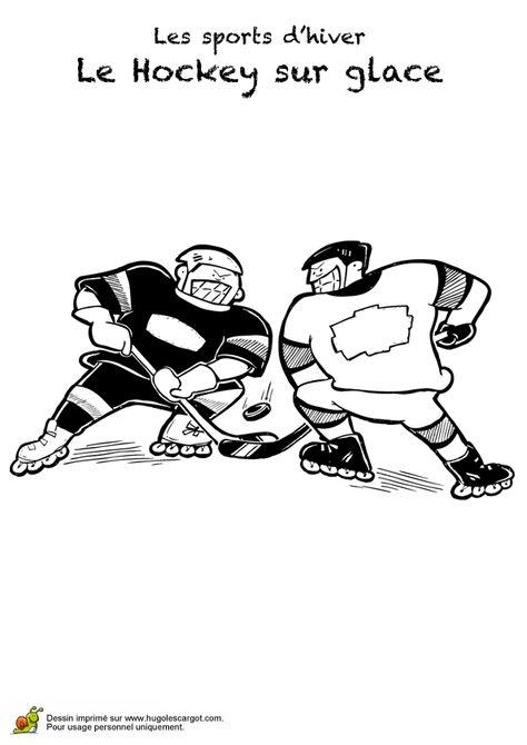 Image De Deux Joueurs Qui S Affrontent Au Hockey Sur Glace En