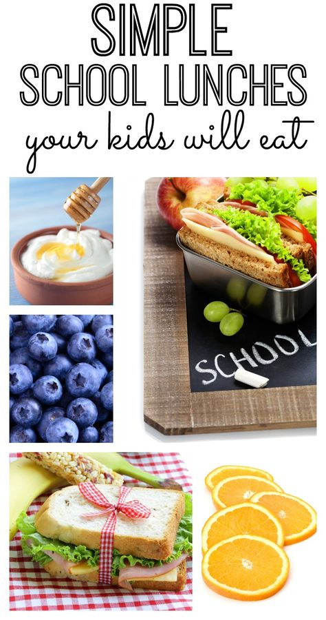 Looking for school lunch ideas that your kids will actually eat? These simple and fast lunch ideas will have your lunches packed in no time (and your kids will love them!)