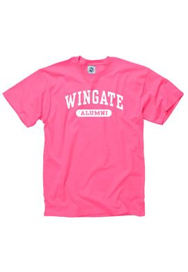 Pink Alumni Tee. $12.95.  Order now & ship today! Call 704-233-8025.