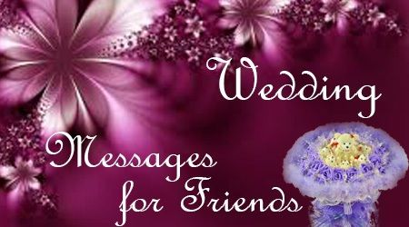 The Friends Send Wedding Wishes To Through Text Messages With Or