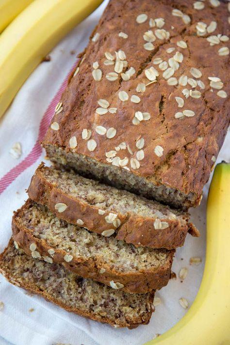 Photo of Vanilla Oatmeal Banana Bread