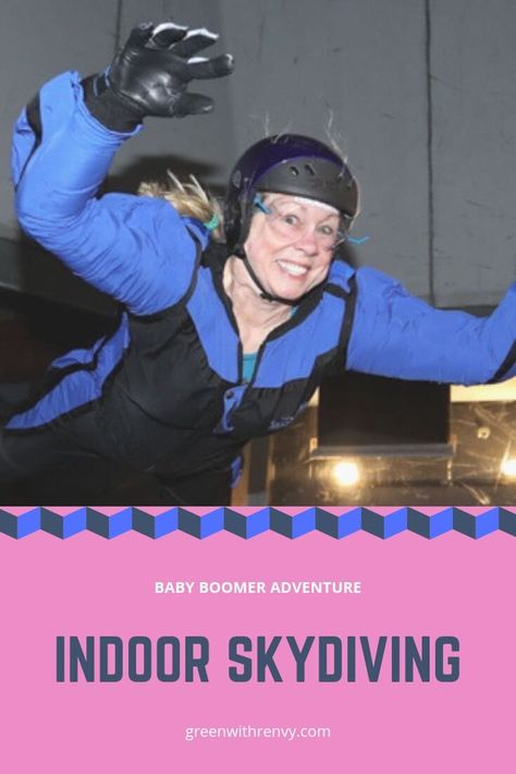 A Skydive Wind Tunnel Adventure With
