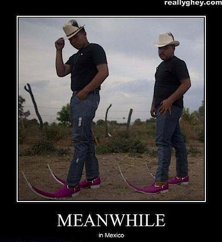 Mexican Cowboy Boots Meme Di 2020 Dengan Gambar