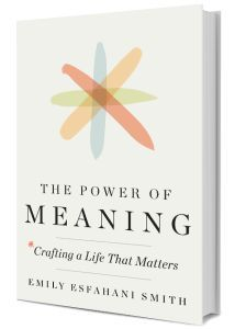 Bio of Emily Esfahani Smith, the author of The Power of Meaning: Crafting a Life That Matters . I Love Books, New Books, Books To Read, Book Suggestions, Book Recommendations, Reading Lists, Book Lists, Philosophy Books, Personal Development Books