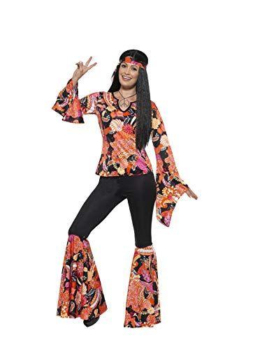 Boys Retro Hippie Shirt Costume Hippy 60s 70s Retro Vintage Classic Fancy Dress