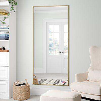 Three Posts Ferndown Traditional Full Length Mirror Wayfair Mirror Wall Bedroom Full Length Mirror In Bedroom Full Length Mirror