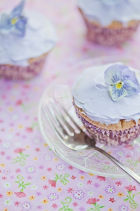 Lovely Lavender cupcakes