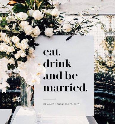 Create for your wedding day that incorporate wedding Welcome Sign Wedding Decor Event Signage, Wedding Signage, Wedding Entrance, Wedding On A Budget, Modern Wedding Ideas, Modern Minimalist Wedding, Classy Wedding Ideas, Wedding Images, Elegant Wedding