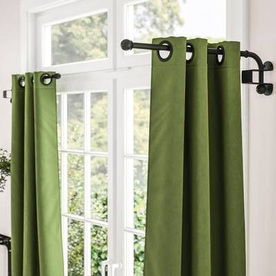 Pin By Gina Rodriguez On Room In 2020 Curtains Curtain Rods Grommet Curtains