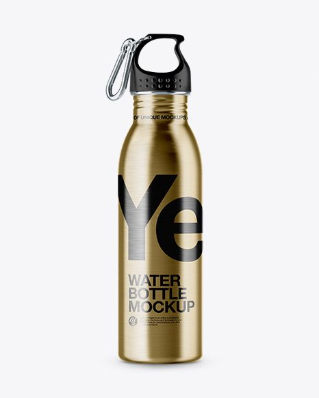 Download Steel Sport Bottle With Carabiner Mockup In Bottle Mockups On Yellow Images Object Mockups Mockup Free Psd Bottle Mockup Free Psd Mockups Templates