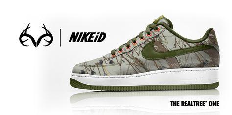 faf1aefc3148 Customized Realtree Camo Nike Sneakers