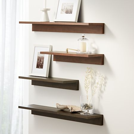 Carren Floating Shelves Crate And Barrel Floating Shelves Diy Floating Shelves Shelves