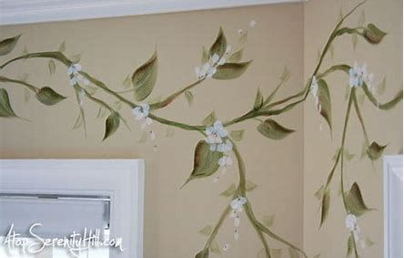 Image Result For Pictures Of Painted Vines Hand Painted Walls