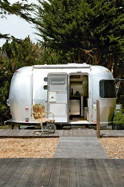 Une chambre d'amis dans la plus mythique caravane