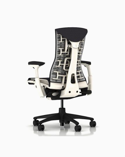 Herman Miller Embody Chair Gray White All Features Adjustable