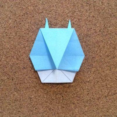 中トトロの折り紙の折り方 簡単にかわいい折り紙が折れるよ イクメンパパの子育て広場 折り紙 折り方 折り紙 中トトロ