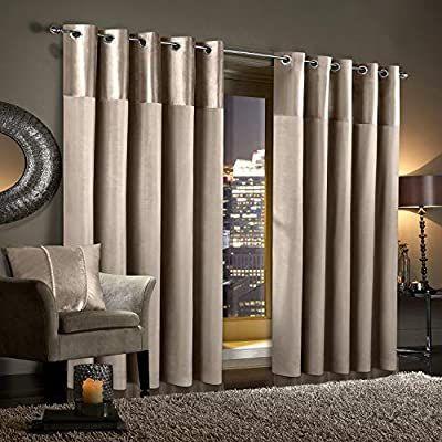 Gran Reno Crushed Velvet Curtains