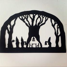 MissDarkAngel: Gnomeforest Silhouette