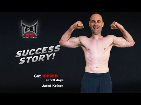 41 year old salesman, Jared Kelner, got in the best shape of his life with TapouT XT.  Watch Jared transform through hard work and taking TapouT XT with him on the road.  To see more TapouT XT testimonials and real results go to www.tapoutxt.com/real-results.html.