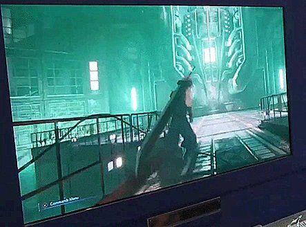 "xenosaga on Twitter: ""cutscene transition loading for Final Fantasy VII Remake demo #FF7R… """