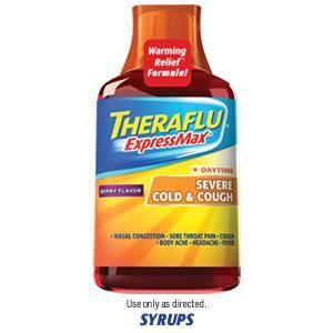 Amazon.com: Theraflu Multi-Symptom Severe Cold Green Tea & Honey Lemon 12  ea: Health & Personal Care   Cold cough, Cough relief, Cough