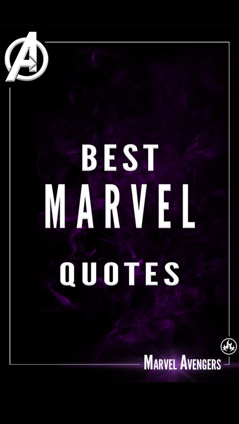 The Best Marvel Quotes
