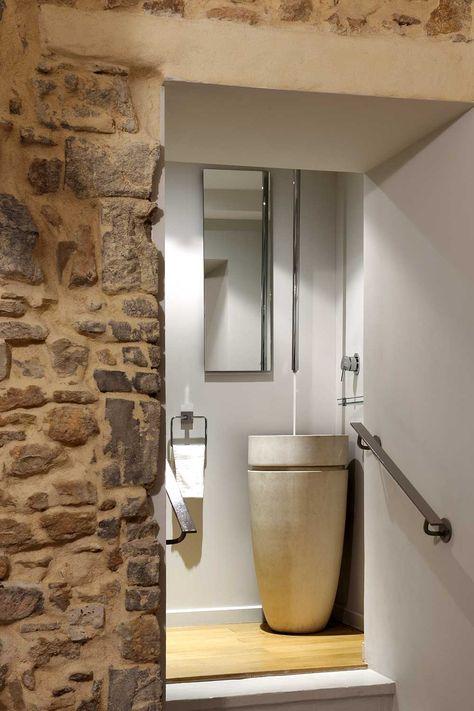 Architecture intérieure maison pierre, Chapelle - Lyon Monts ...