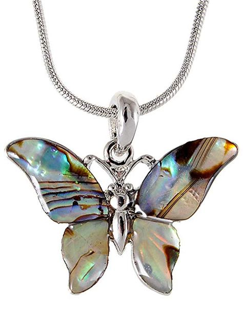 Alilang Blue Heart Pendant Heart of Ocean Colorful Jewelry Rhinestone Necklace for Women