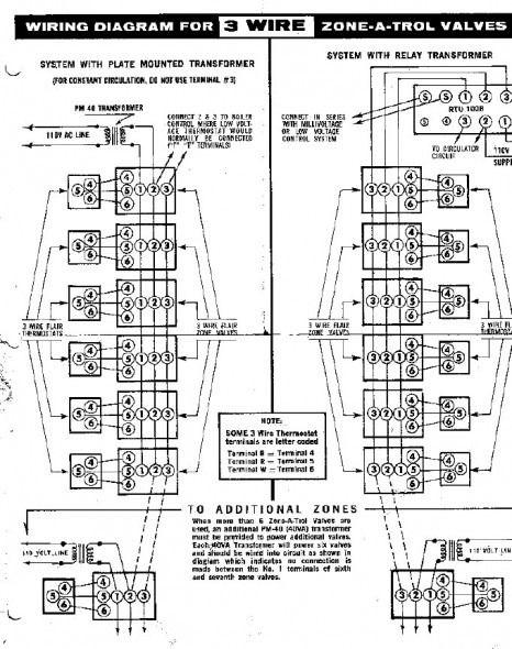 Boiler Zone Valve Wiring Diagrams Diagram Boiler Valve