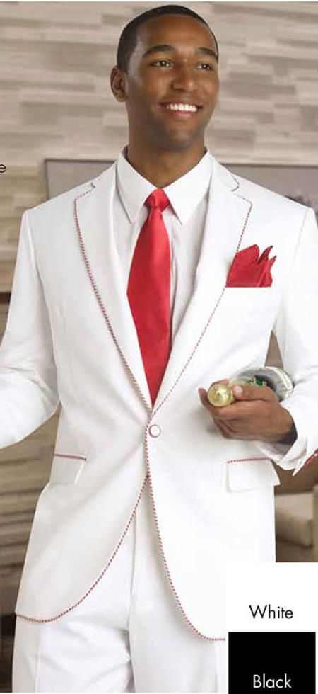 Mark\'s wanting to wear a white tux, i told him i wouldn\'t mind ...
