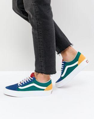 Vans Old Skool Sneaker In Primary Color Block | Chaussures vans