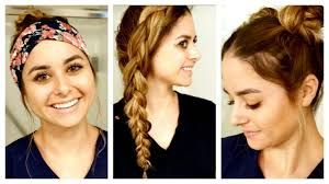 The 8 Best Hairstyles For Nursing Clinicals Nurse Hairstyles Cool Hairstyles Short Hair Styles Easy