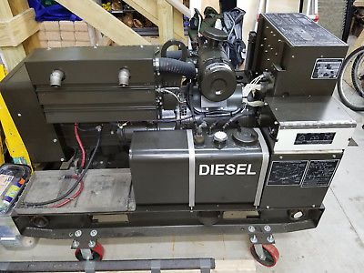 Mep 003a Military Mep Diesel Generator 10kw Onan 803 802 002 Mint Redone Army Generators For Sale Generation Industrial Generators