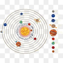 Solar System Planet Galaxy Clipart Vector Material Solar System Png Transparent Clipart Image And Psd File For Free Download Clip Art Solar System Planets Free Graphic Design