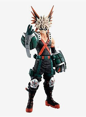 Banpresto My Hero Academia One S Justice Fighting Heroes Katsuki Bakugo Ichiban Kuji Collectible Figure My Hero My Hero Academia Hero