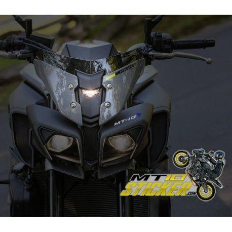Yamaha Mt 10 Headlight Stickers 43 One Custom Mt 10 Headlight