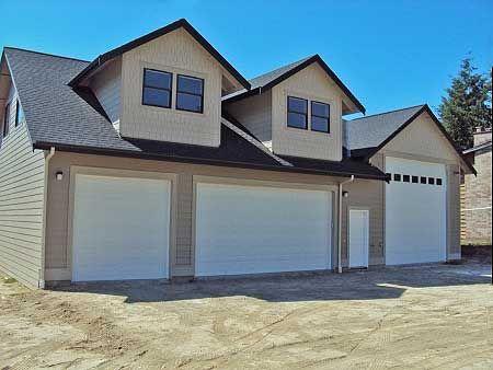 Plan 35489GH: RV Garage With Apartment Above | Garage shop ...