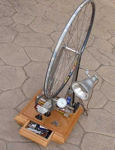 Bicycle Bike Wheel Building Truing Jigs Stands Spoke Wrenches Tools By Jim Langley Bike Bike Wheel Bike Repair