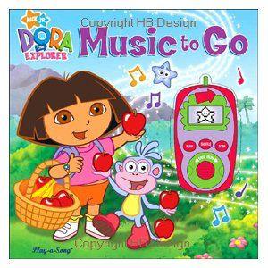 Pin On Dora The Explorer Interactive Sound Books