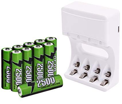 Pin By Buyesy On Best Aaa Rechargeable Batterie Reviews Rechargeable Batteries Nimh Battery Sizes