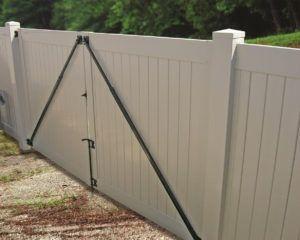 Vinyl Fence Gate Brace Vinyl Fence Gate Kit Fence Gate