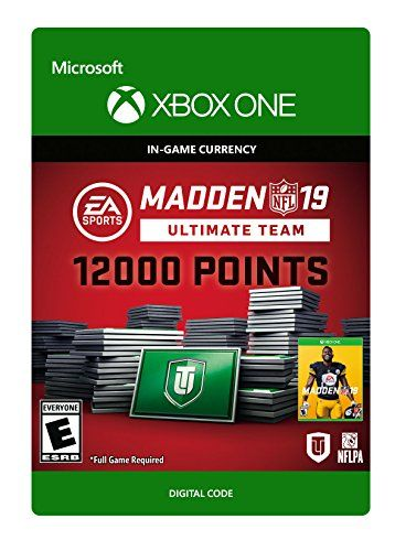 Madden NFL 19: MUT 12000 Madden Points Pack - Xbox One