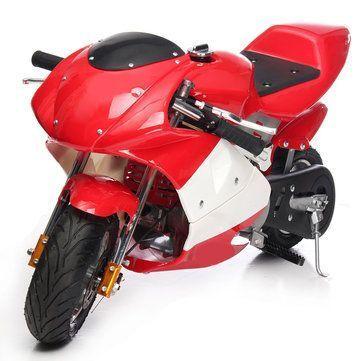 49cc 4 Takt Benzin Kinder Jugendliche Mini Bike Motorrad Pocket
