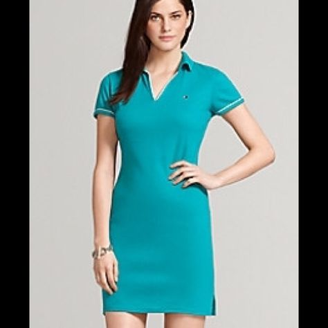 Tommy Hilfiger : Casual dress Knee length. 100 % cotton. Very comfortable Tommy Hilfiger Dresses