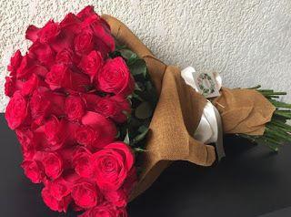 صور باقات ورد Red Roses Flowers Bouquet Rose