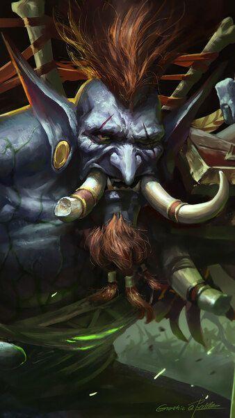 Pin On World Of Warcraft Wow World of warcraft troll wallpaper