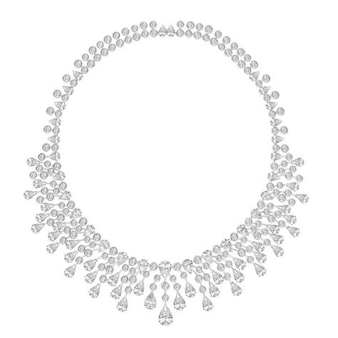 This is the way to do your wedding to the max: The Chaumet Splendour diamond necklace has 70 brilliant-cut diamonds set into platinum in a highly flexible construction. See more bridal jewellery: http://www.thejewelleryeditor.com/window-shopping/jewellery-for-her/chaumet-splendour-diamond-necklace/ #jewelry #inspiration
